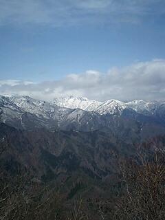 谷川岳はガスの中