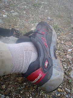 トレイルランの靴